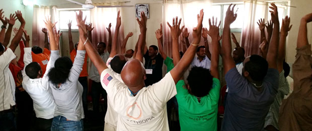 Ethiopia Counselors Stretch